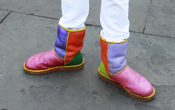 Почему предприниматели носят странную обувь