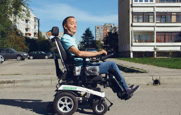 Ещё одно преодоление: После аварии Роман Аранин делал коляски, но попал под кризис