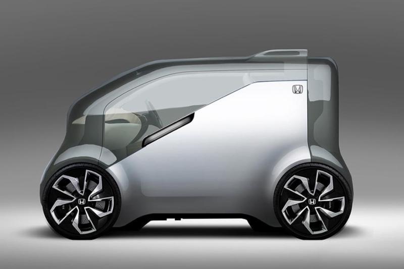 Шоу-кар Хонда NeuV блеснёт искусственным интеллектом