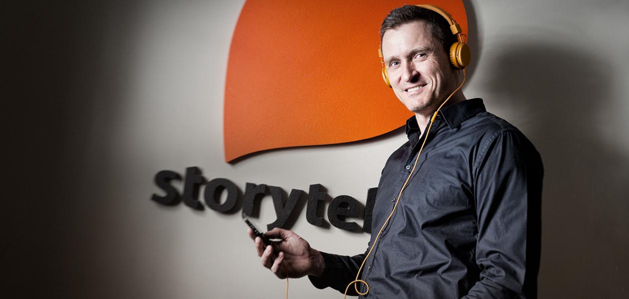 Победа Storytel: Как Йонас Телландер создал культ аудиокниг в Северной Европе