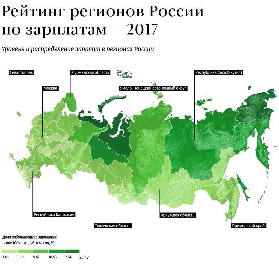 Уровень зарплат вВолгограде оказался несамым низким постране