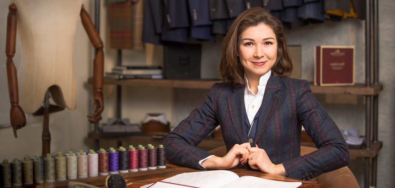 Татьяна Кожевникова открыла ателье в центре Лондона и попала в список Forbes. Как?