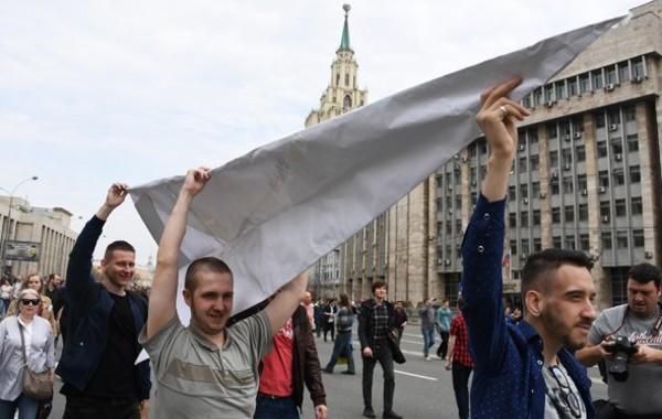 Как прошла акция в поддержку Telegram в Москве на проспекте Сахарова