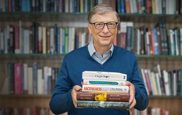 Что читать летом: Рекомендации Билла Гейтса