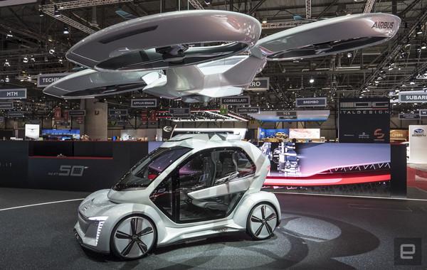 Audi и Airbus создадут беспилотные летающие такси по заказу Германии