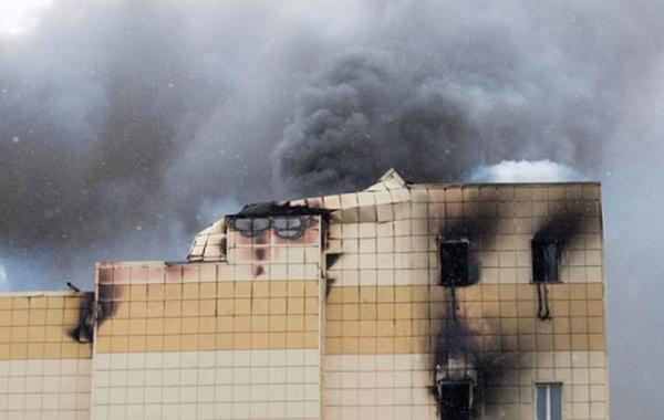 Установлена причина пожара в «Зимней вишне»