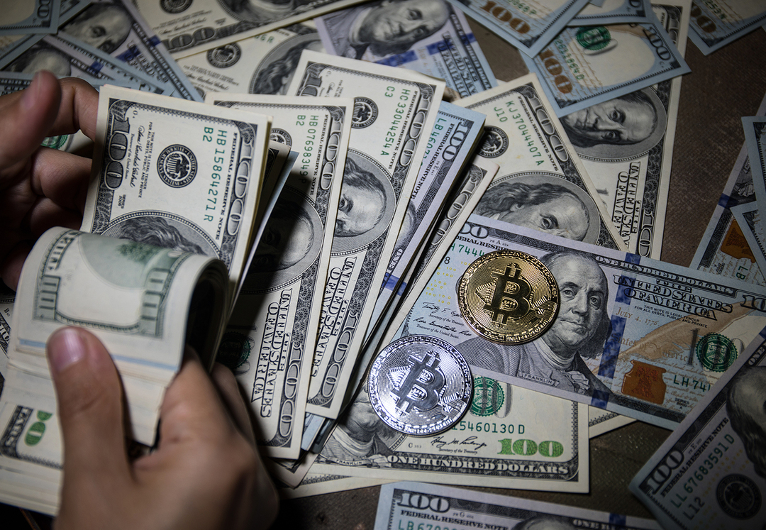 Капитализация биткоина впервые превысила $1 трлн