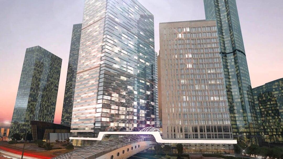 На улучшение небоскрёба для чиновников в Москве-Сити потратили 1,2 млрд рублей