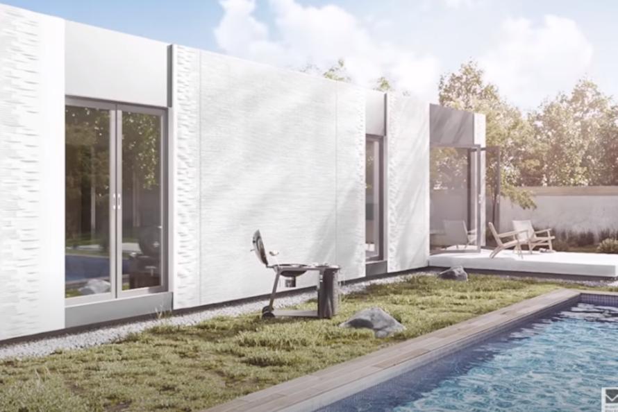 До $1 млн за дом. В США впервые появится район с напечатанным на 3D-принтере жильём