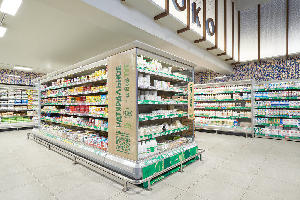Половина молочки в российских магазинах оказалась просроченной