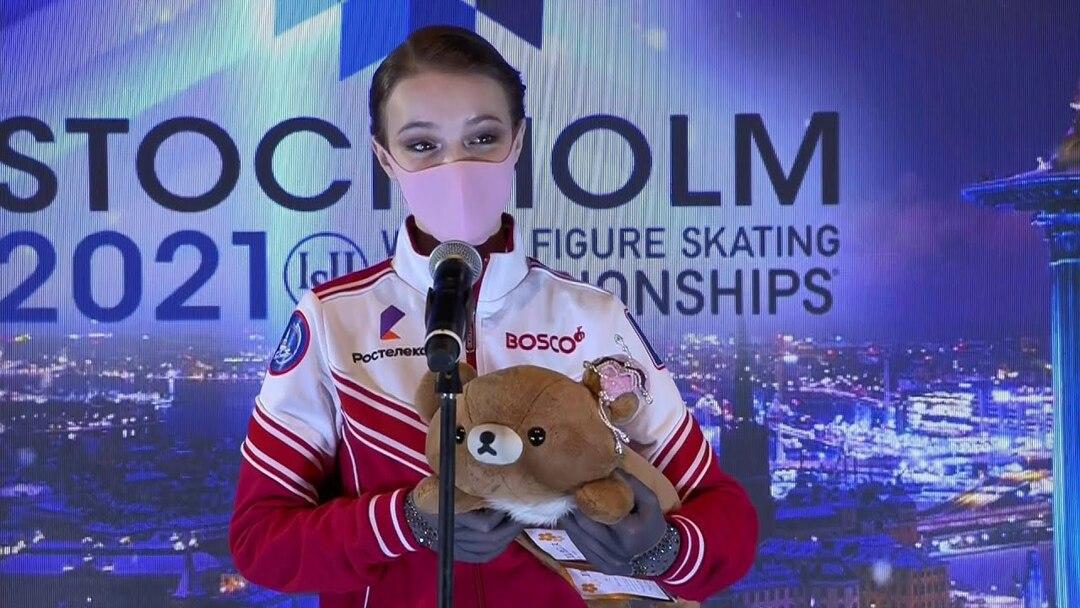 Раскрыты гонорары российских фигуристок за победу на чемпионате мира в Стокгольме