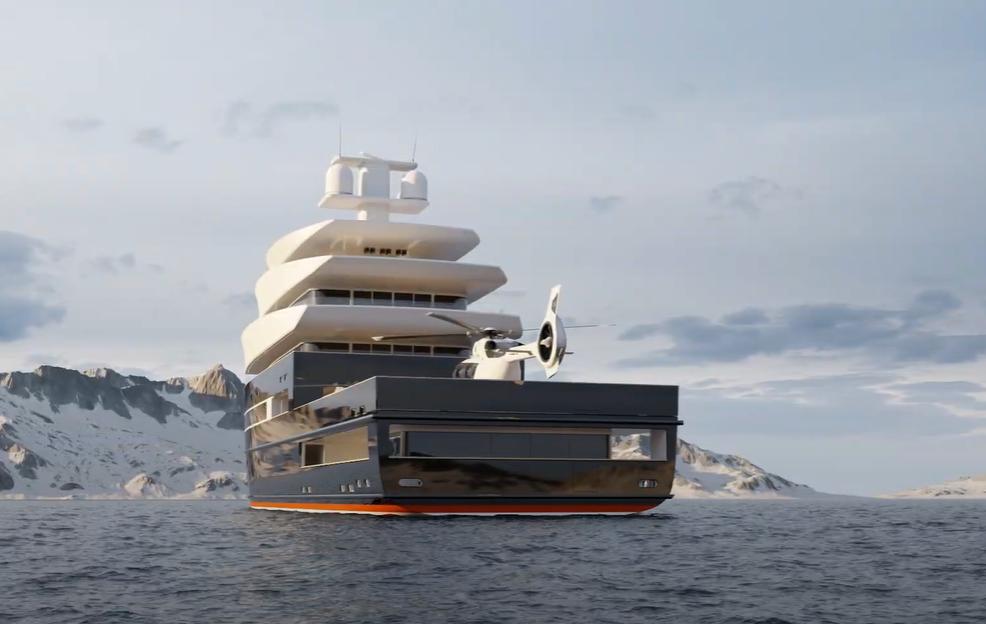 Бизнесмен решил катать миллиардеров за $3 млн на первой в мире атомной яхте