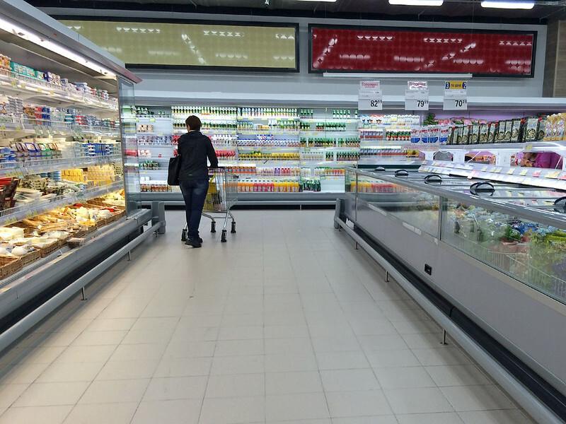 Магазины для бедных становятся в России всё популярнее