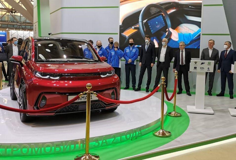 На развитие рынка электромобилей в России потратят свыше 400 млрд рублей