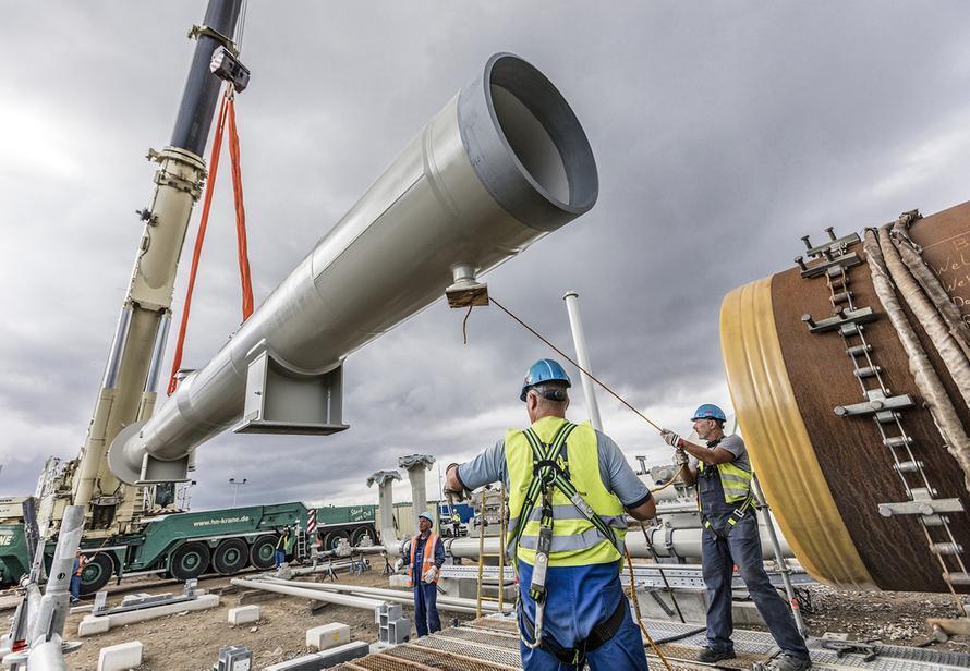 Ограничение поставок газа из России. Раскрыты детали сделки Германии и США по Северному потоку  2