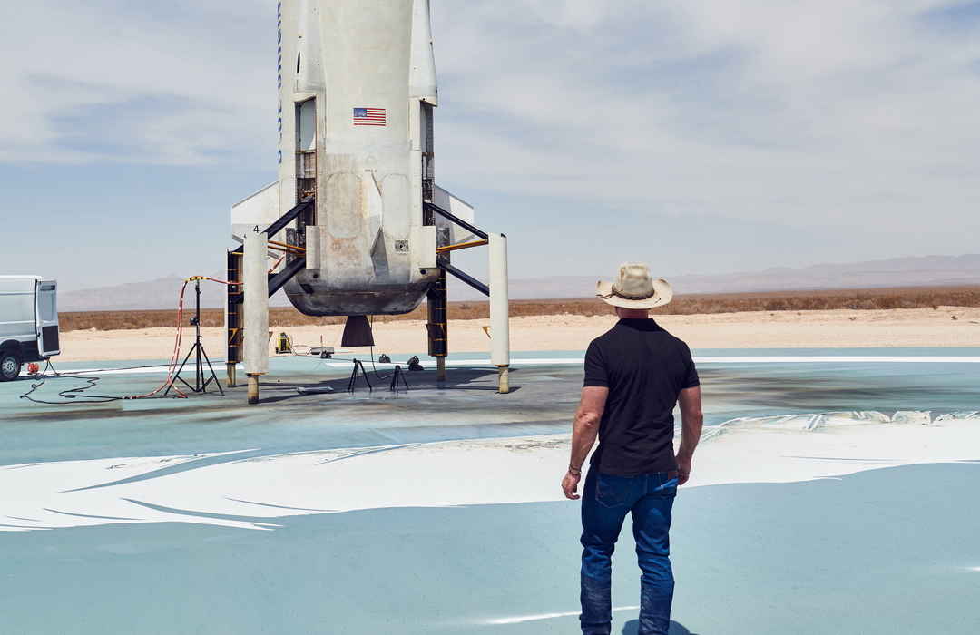 Blue Origin продала билеты в космос на $100 млн после успешного полёта Безоса