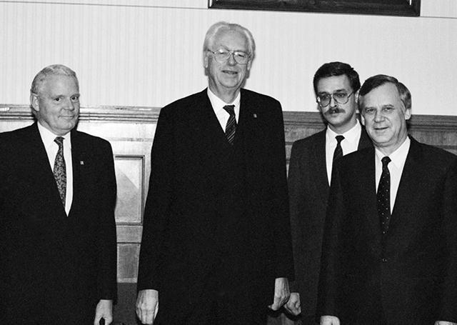 Визит Раусинга в СССР. 25 сентября 1990 г.