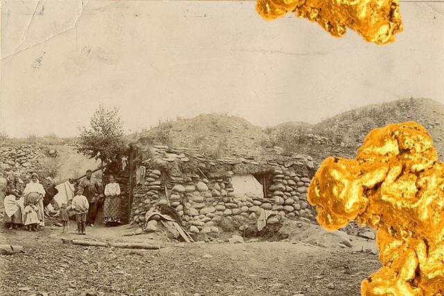 Дом рабочих золотого прииска. Минусинск, 1911 г.