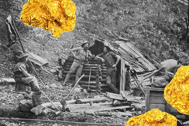Хижина геолога. 1870 г.